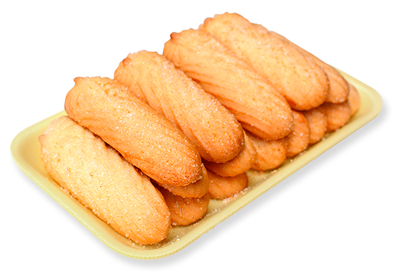Biscuit with sugar
